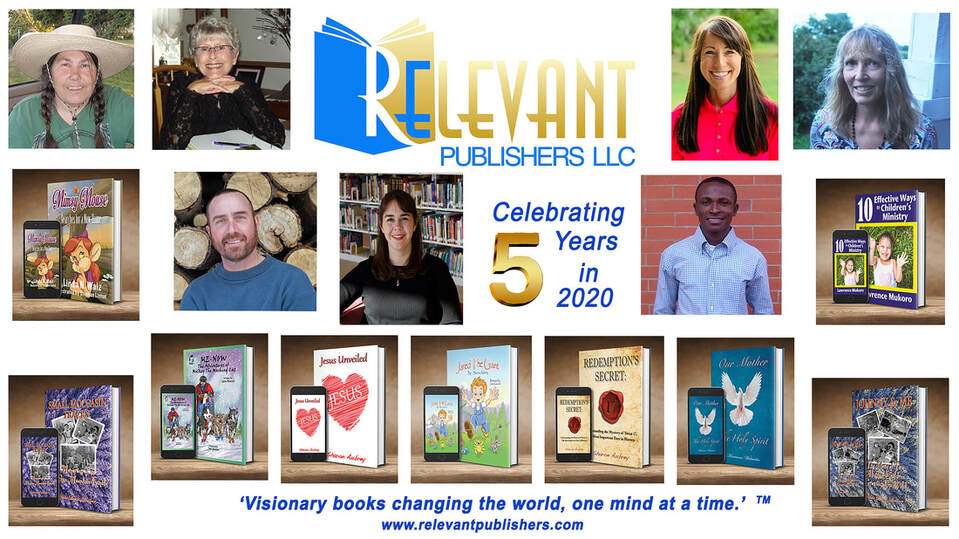 Banner of Relevant Publishers LLC celebrating 5 years